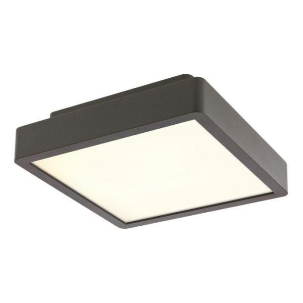 Corpuri de iluminat exterior APLICA PATRATA GRI LED 20W STAGE 9888 REDO.9888