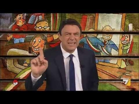 diMartedì - Crozza: Mentre Renzi era concentrato sull'abolizione del Sen...