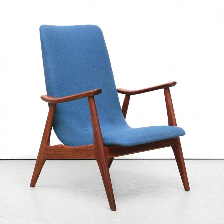 Arm Chair from the fifties by Louis van Teeffelen for Wébé