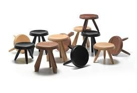 tabouret charlotte perriand