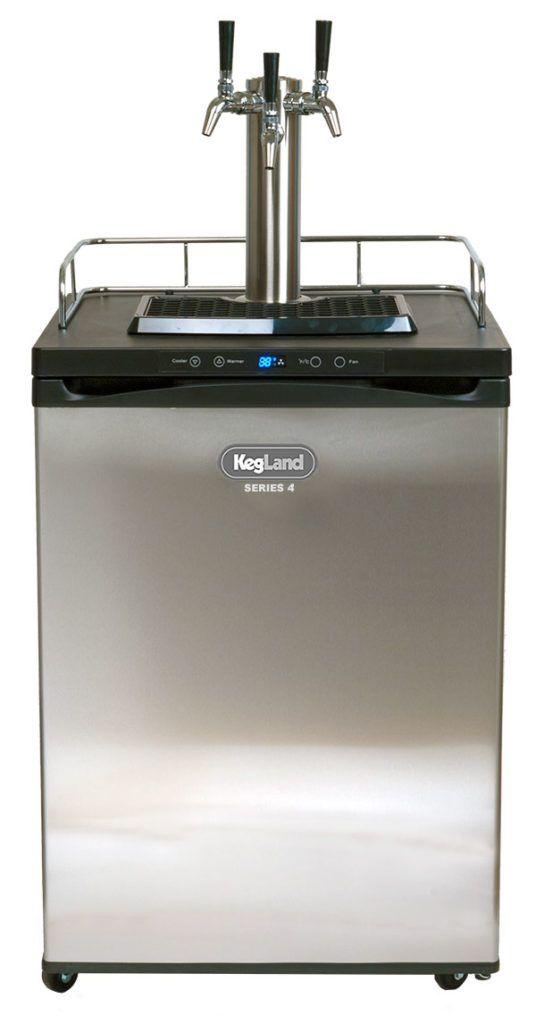 Kegerator For Sale >> Tonight Only Kegland Series 4 Kegerator Designed For Homebrewers