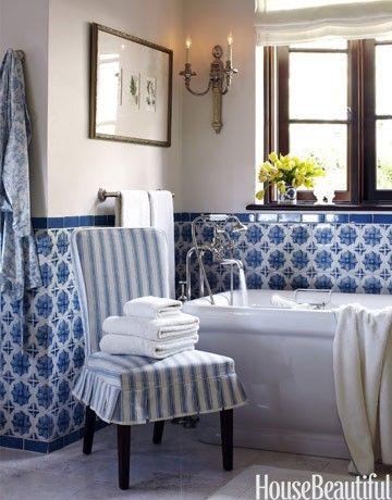 Best Blue White Decor Images On Pinterest Home