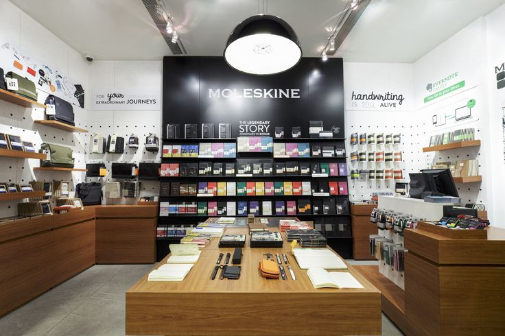 Moleskine Store I Hong Kong Hysan Place | 500 Hennessy Rd - Causeway Bay Eslite Bookstore  - Shop L902 10 am - 10 pm