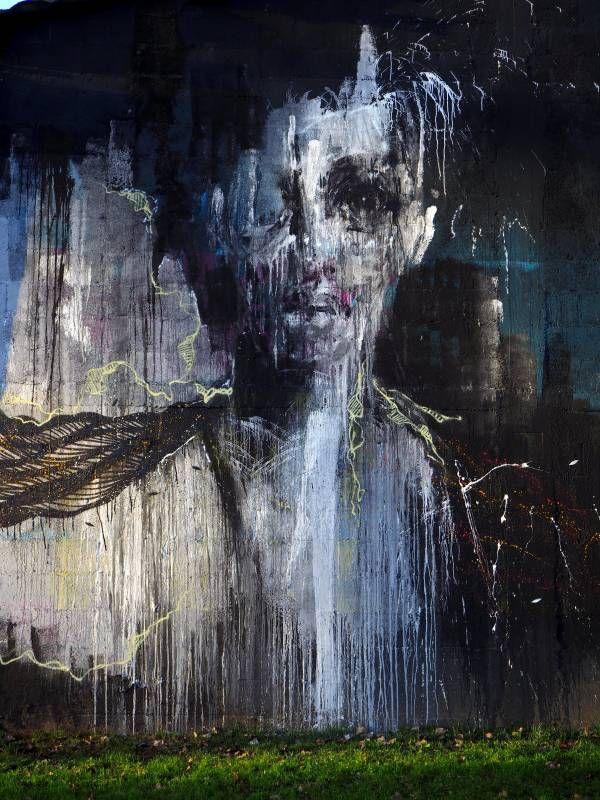 Jef x Moyoshi x La rouille /// Fresque sur la friche Garnier, Redon