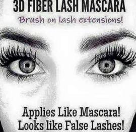 3D Fiber Lash Mascara. Creëert in 3 eenvoudige stappen langere en vollere wimpers door de unieke micro-fiber tech