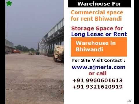 Commercial Space for rent Bhiwandi, Warehouse in Bhiwandi, Storage space...
