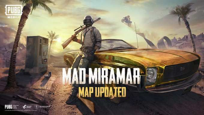 Pubg Mobile 0 18 0 Update With New Mad Miramar Map Is Now Live Miramar Brothers In Arms Mobile