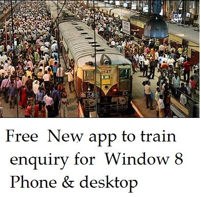 Indian Railways  announced the good news fro the comfortability for all the travelers by launching the new application on wednesday named National Train Enquiry System (NTES)  for Windows Phone 8 OS. They team up with the the IT Arm of Indian Railways with support from Microsoft. Centre for Railway Information Systems (CRIS), the information and…