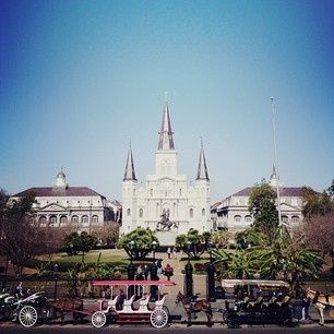 New Orleans – Jackson Square | Family Vacation Ideas #journey