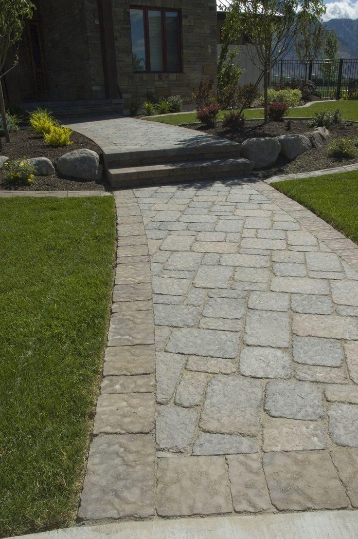 Image result for paver driveway extension