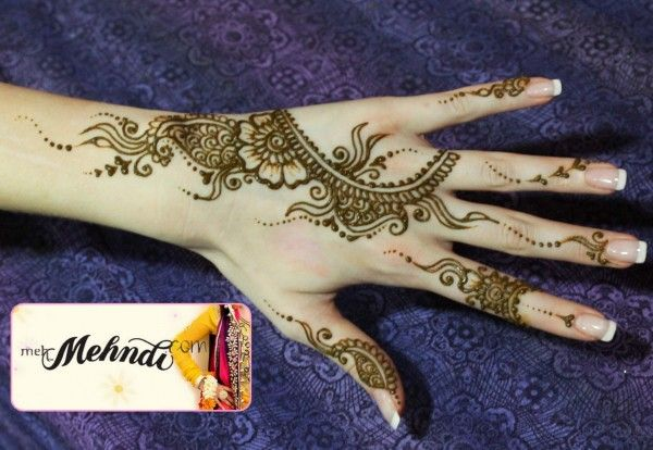 Simple Arabic Mehndi Designs 2015 & Henna Mehndi Design