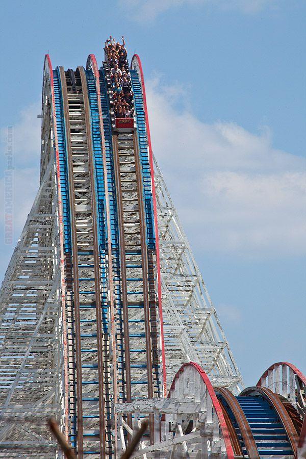 American Eagle roller coaster | Flickr - Photo Sharing!