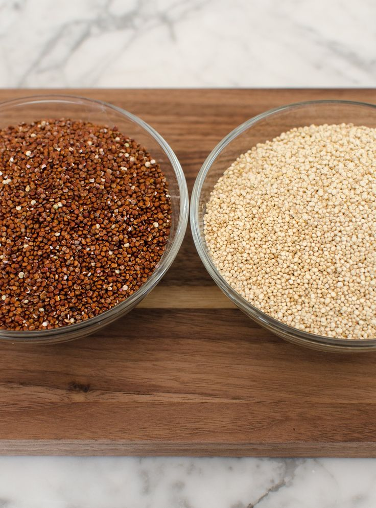 What's the Difference Between Red and White Quinoa?