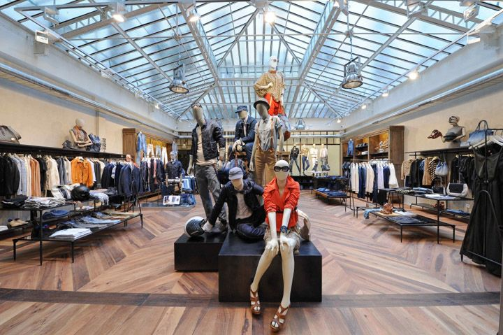 Retail Design | Shop Design | Fashion Store Interior Fashion Shops | New Diesel Store in Paris