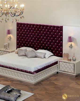 Stylowa sypialnia Marco