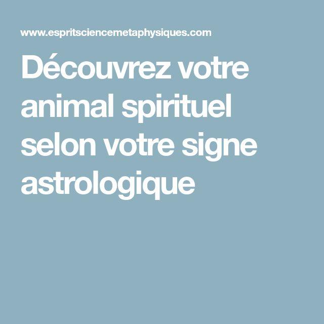 Découvrez votre animal spirituel selon votre signe astrologique