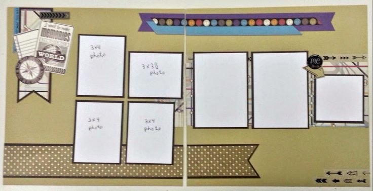 Terry Ann Diack -Just a TAD Crafty: Wanderful, 2nd layout