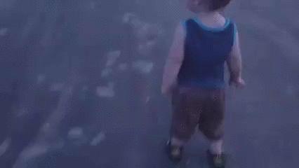 Johnny Bravo as a toddler  http://lolsalot.com/funny-pics/johnny-bravo-as-a-toddler/  #Funny #Pic