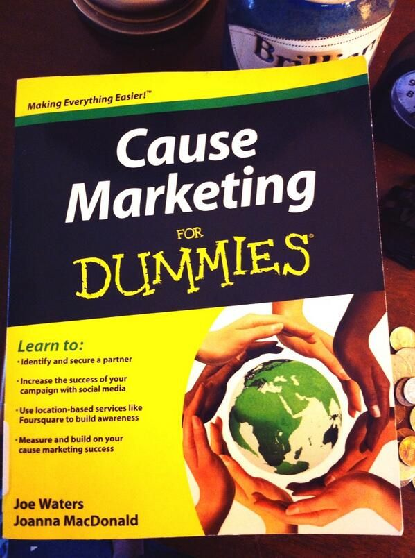 30 best Cause Marketing for Dummies images on Pinterest | Best gifts ...