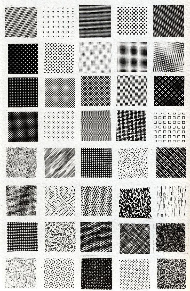 Toutes les tailles   Bruno Munari, esempi di textures   Flickr: partage de photos!