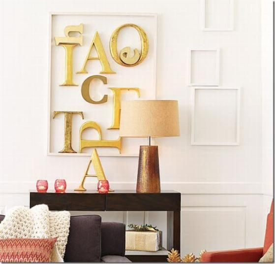 decorar las paredes con letras y nmeros decorar tu casa es