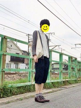 kitsuneさんの「デッキシューズ(EDWIN|エドウィン)」を使ったコーディネート