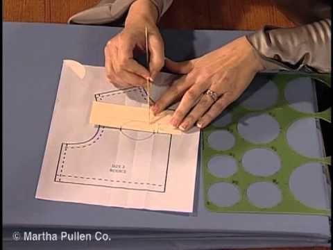 Designer Technique - Beyond the Basic Bodice (Interlocking scallops on front yoke)