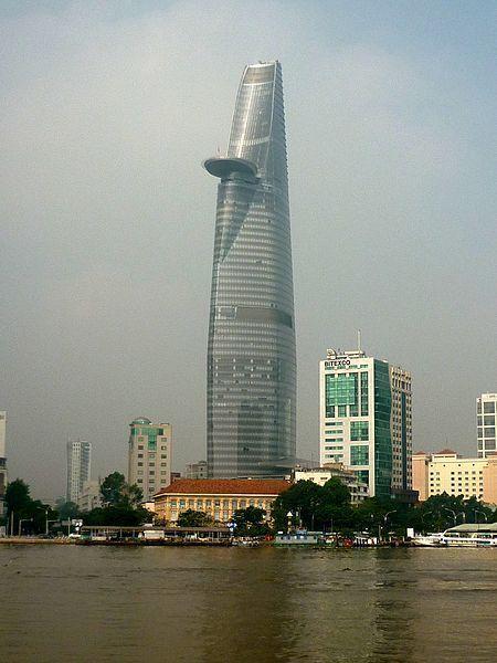 Bitexco Financial Tower, Ho Chi Minh City, Vietnam.