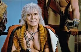 Khan Noonien Singh (Ricardo Montalban) , commonly shortened to Khan. Harve Bennett, executive producer for Star Trek II, chose Khan as the villain for the film. To reflect the time spent marooned on an inhospitable world, Khan was given a costume that looked as though it had been scavenged from different items - showed off Montalbán's physique. Montalbán's portrayal has been positively received by critics-fans; Khan was voted 1 of the 10 greatest film villains by the Online Film Critics…