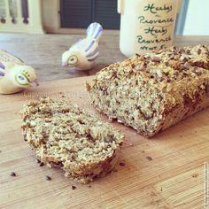 Цельнозерновой хлеб без дрожжей (веганский)