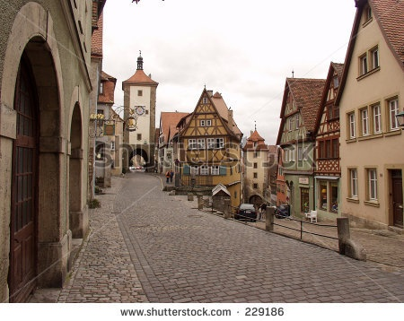 Rothenburg ober Tauber, Germany