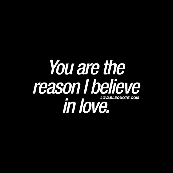 When you meet someone that makes you feel love in such an intense and amazing way. That's you!!! ♥