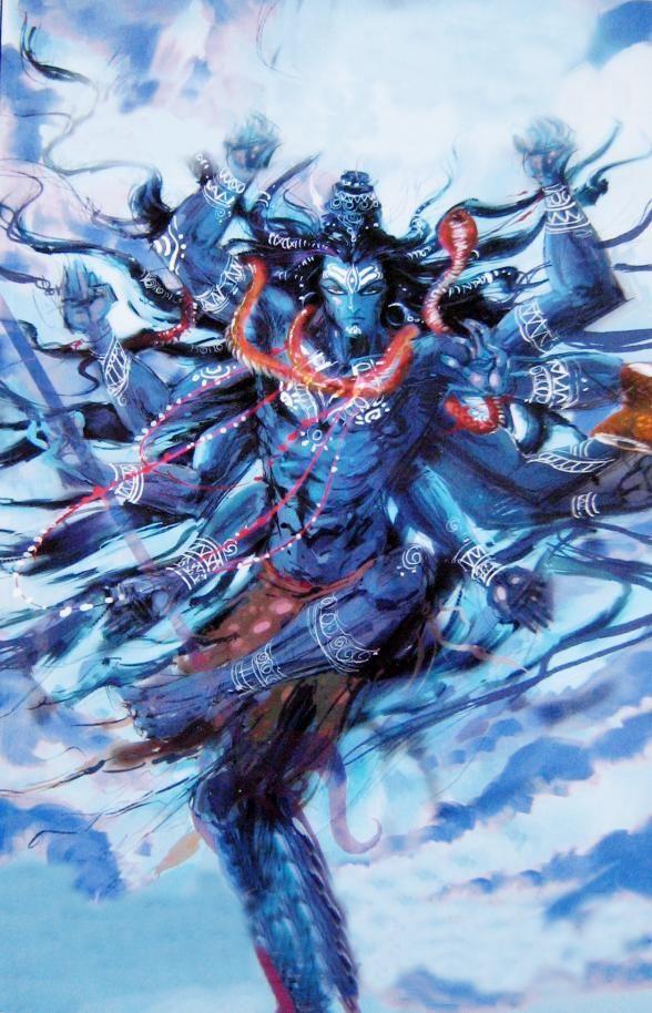 Shiva Blue