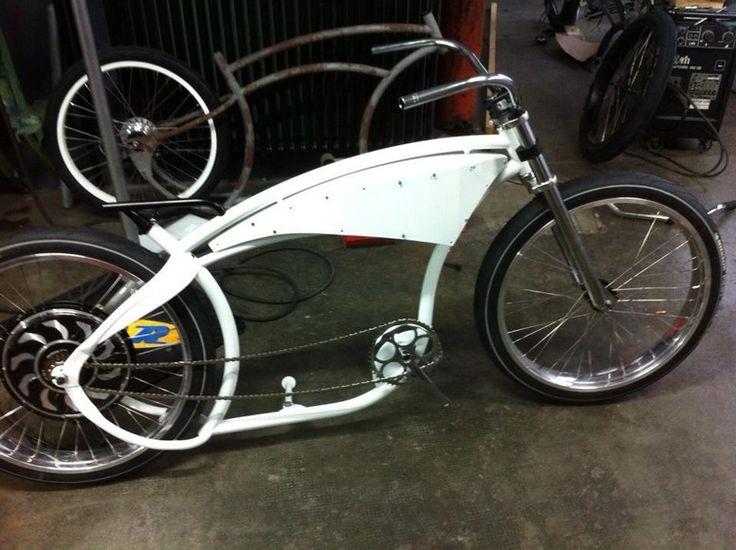 V-OCO E-BIKE - OCOBIKE- Beach Cruiser Bike Shop Neuchatel, Lowriders Fahrräder, Choppers Fahrräder, Custom Bike