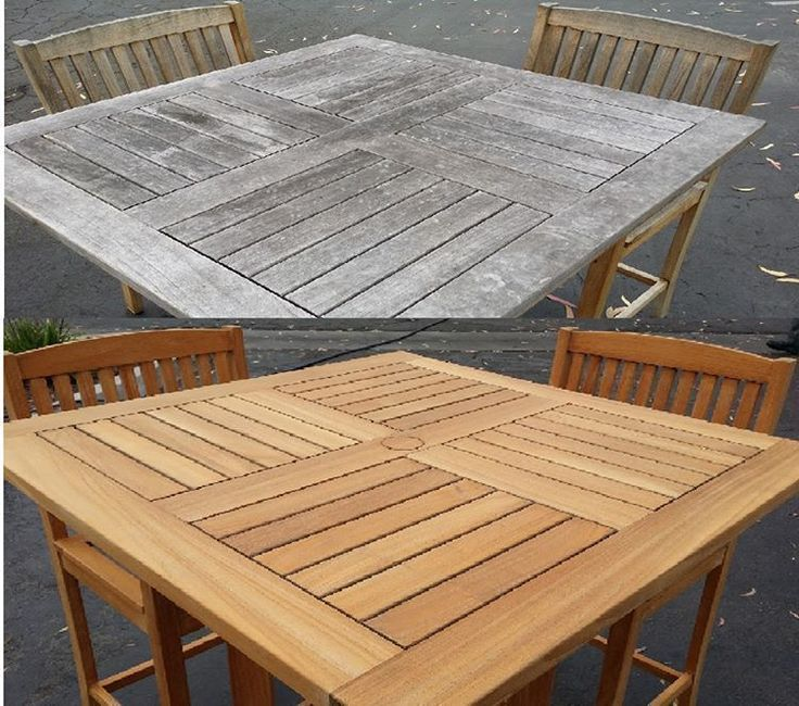 Whether You Have A Teak Patio Furniture Set At Your Home Need A Furniture  Repair Or