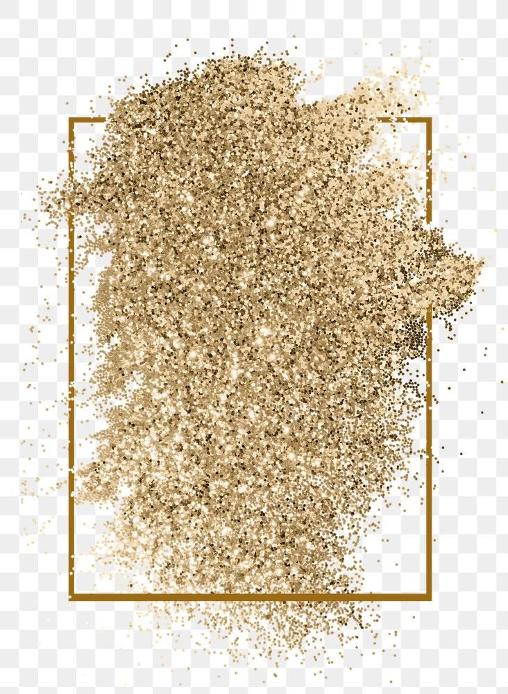 Festive Shimmery Gold Glitter Paint Brush Stroke With Gold Frame Free Image By Rawpixel Com Kar Watercolor Splash Png Watercolor Splash Gold Glitter Paint