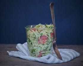Vanløse blues.....: Cremet fennikelsalat med avokado, grape & quinoa