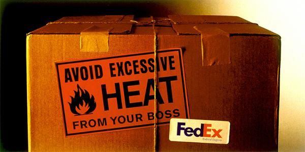 HEAT, Courier Service, BBDO Canada, Fedex, Print, Outdoor, Ads | Gold Winner 1997 | Canada