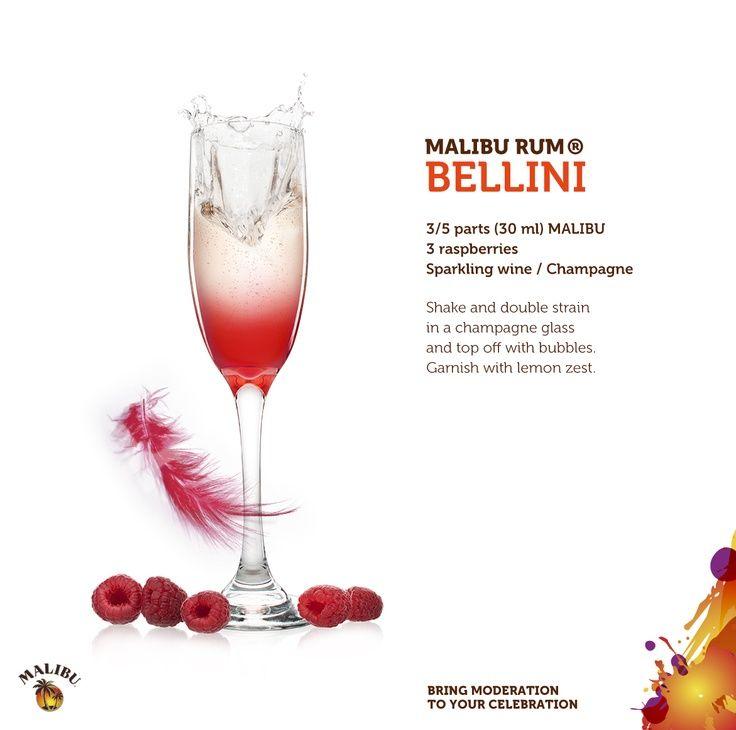 Malibu Rum Bellini