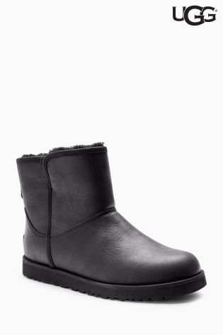 Buy Ugg Black Cory Mini Leather Boot from the Next UK online shop