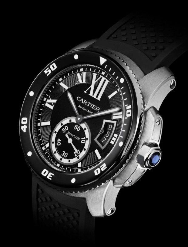 Definitely beautiful. Cartier Calibre de Cartier Diver Watch