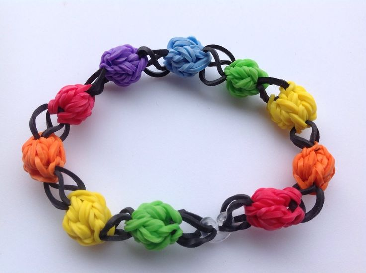 Loom Bands Designs - Rainbow Loom Bracelet