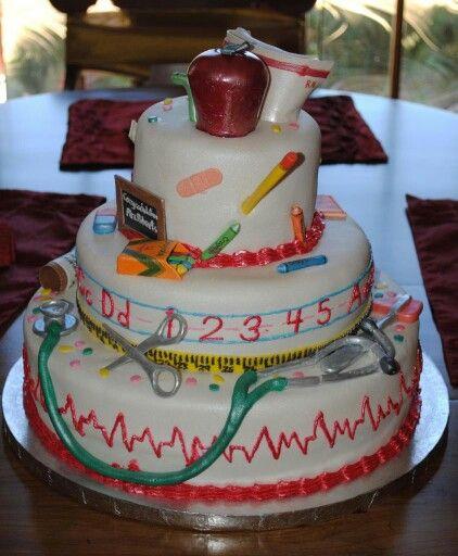 Let's Eat Cake, Especially A Nurse Educator Cake! Enjoy