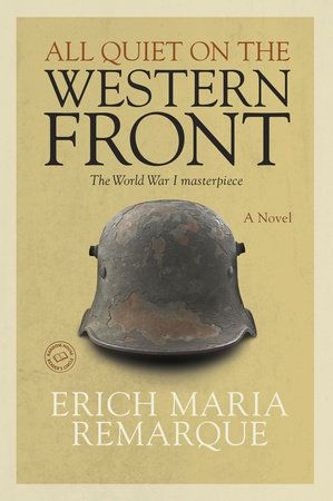 Considered by many the greatest war novel of all time, All Quiet on the Western Front is Erich Maria Remarque's masterpiece of the German experience during World War I.  I am young, I am twenty years...