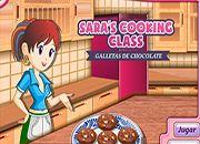 Cocina de Sara: Galletas chocolate | Hi juegos de cocina - jugar online