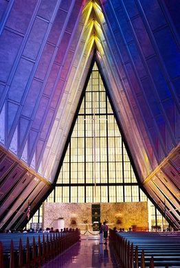 Cadet Chapel – U.S. Air Force Academy, Colorado - Atlas Obscura