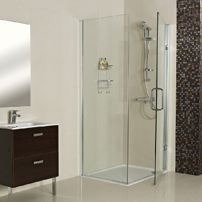 --- Our Decem range presents an elegant Shower Enclosure for a corner installation, designed to create an effortlessly minimalist finish.  --- Available from Roman Ltd - British Made Luxury Shower Enclosures and Bath Screens. Images Copyright www.roman-showers.com