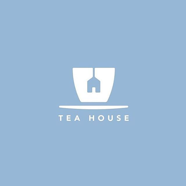 Yalon-Logo&Logotypes This design combines very iconic imagery of a house and a tea cup successfully for a unique logo.