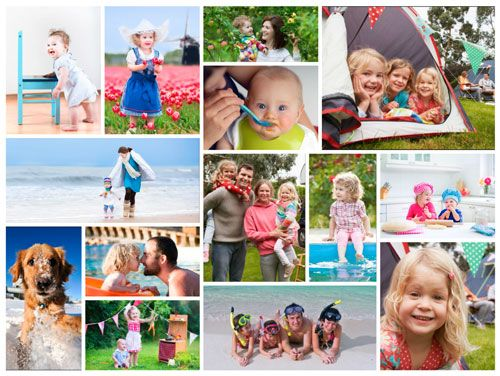 Customizable Mosaic Collage by EasyCollage