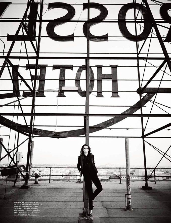 Вайнона Райдер в Red Magazine